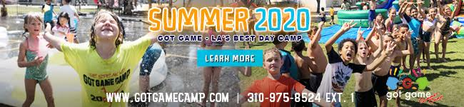 Got Game Camp summer camp banner